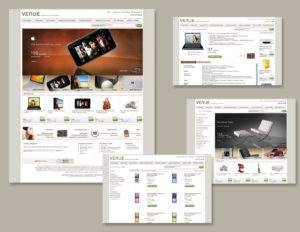 Venue Ecommerce Website