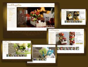 Candle Bouquet Website