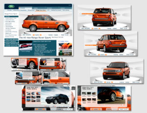 Land Rover Microsite