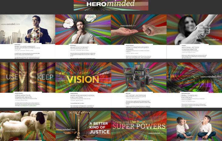 HeroMinded Blog, Book, Game