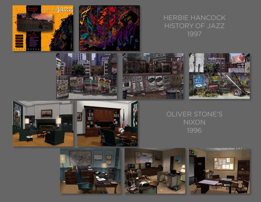 History of Jazz & Nixon CD ROMs 1996-97